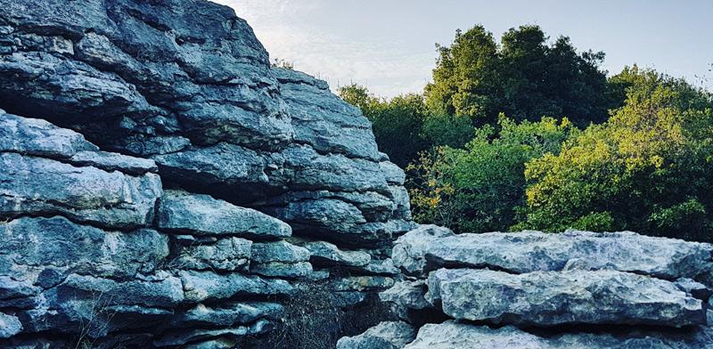 בפארק הסלעים בכיסרא / צילום: גלית חתן