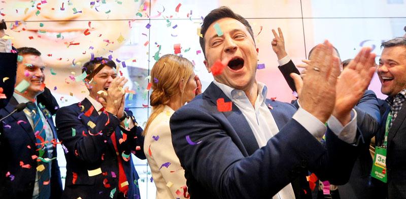 וולודיה זלנסקי/ צילום:reuters Valentyn_Ogirenko