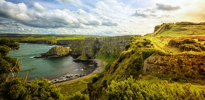 רצועת החוף בצפון אירלנד/ צילום: Shutterstock א.ס.א.פ קריאייטיב