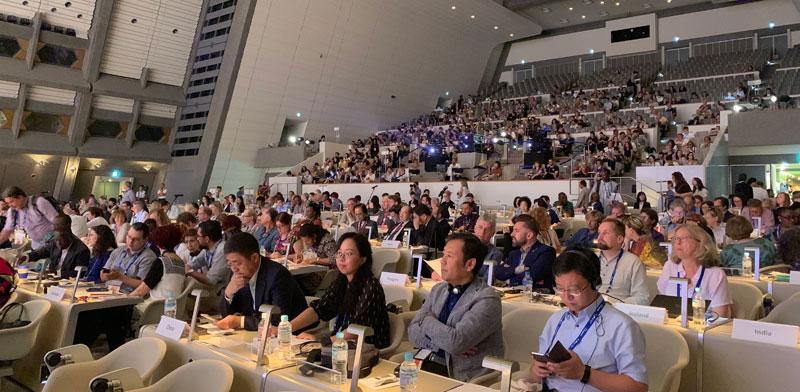 האספה המיוחדת בקיוטו /  צילום: טל בר לב