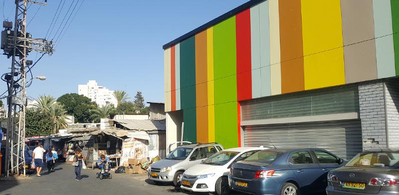 מתחם השוק החדש ברחובות / צילום: גיא נרדי