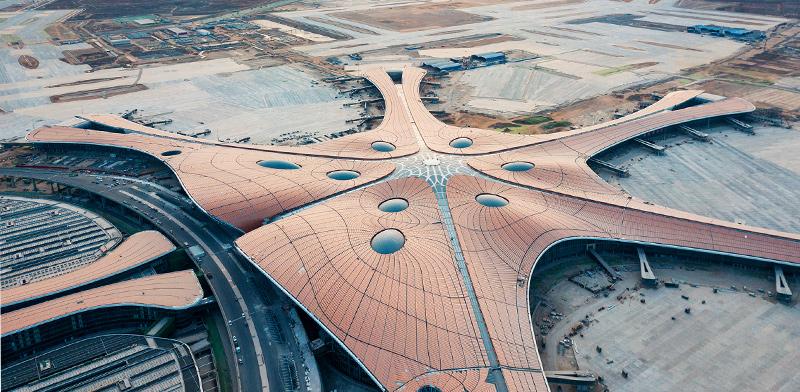נמל התעופה הגדול ביותר בעולם Daxing בבייג'ינג, סין / צילום: shutterstock