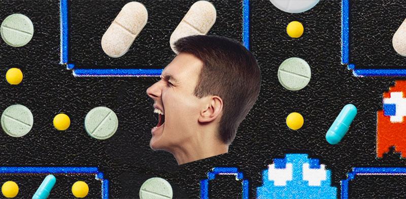 התמכרות למשככי כאבים / צילום: shutterstock; אילוסטרציה: טלי בוגדנובסקי