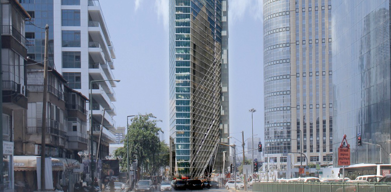 Ramat Gan tower  / Imagin: Viewpoint Image
