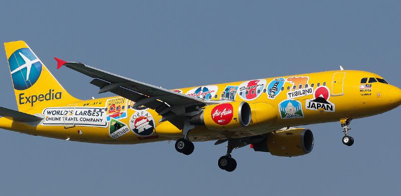מטוס של קבוצת אקספדיה / צילום: shutterstock