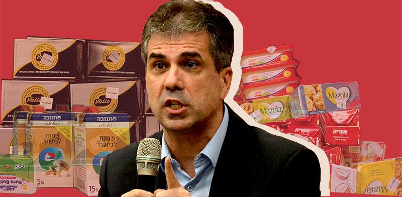 שר הכלכלה אלי כהן ומשבר החמאה / צילומים: איל יצהר, שני מוזס
