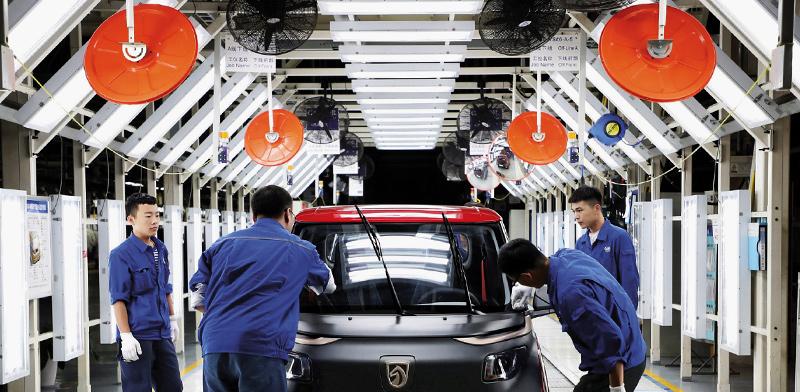 """מפעל של SAIC הסינית / צילום: יח""""צ"""