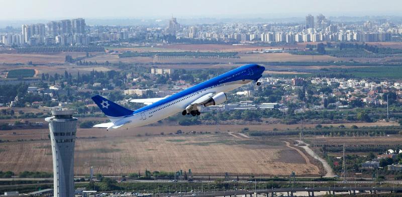 """מטוס ראשי המדינה / צילום: יואב וויס, תע""""א"""