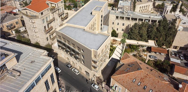 Notre Dame hotel / Imagin: Nachum Meltzer architects