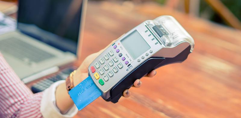 מסופון אשראי / צילום: shutterstock