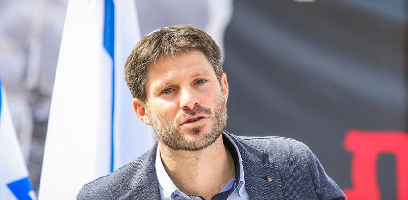 שר התחבורה בצלאל סמוטריץ' / צילום: שלומי יוסף