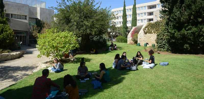 אוניברסיטת הר הצופים ירושלים / צילום: איל יצהר