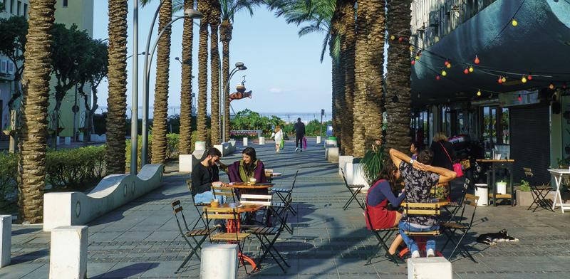 רחוב שער פלמר בעיר התחתית, חיפה / צילום: shutterstock