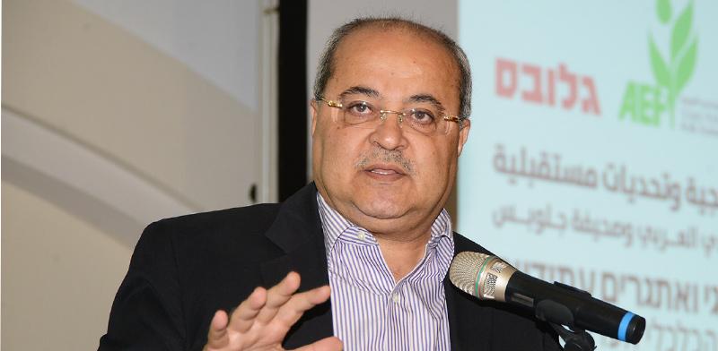 """חבר הכנסת אחמד טיבי, יו""""ר סיעת הרשימה המשותפת / צילום: איל יצהר, גלובס"""