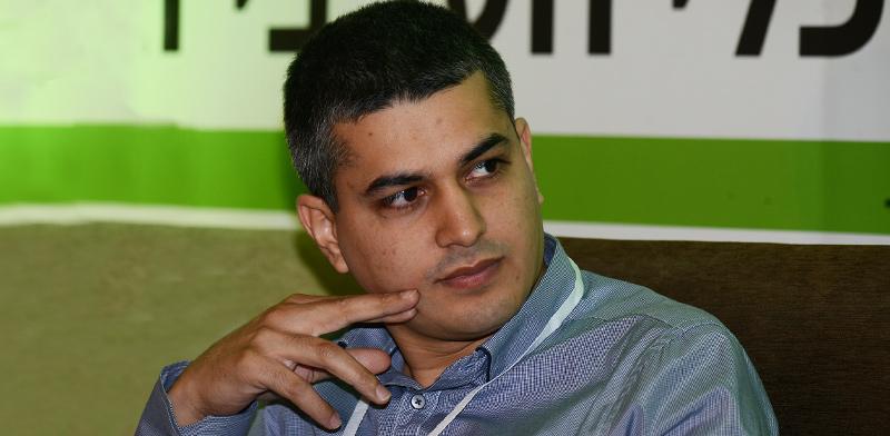 """עו""""ד פיאד טמיש בכנס של הפורום הכלכלי הערבי ו""""גלובס"""" / צילום: איל יצהר, גלובס"""