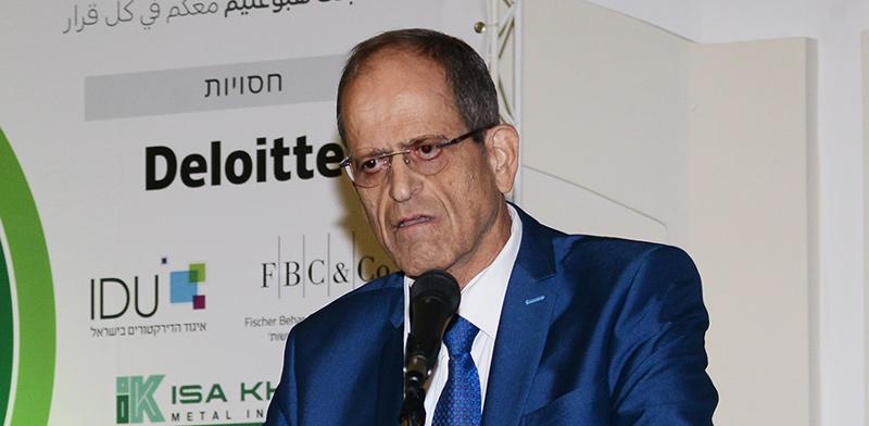 """חזי כאלו, מנכ""""ל בנק ישראל, בכנס של הפורום הכלכלי הערבי ו""""גלובס"""" / צילום: איל יצהר, גלובס"""
