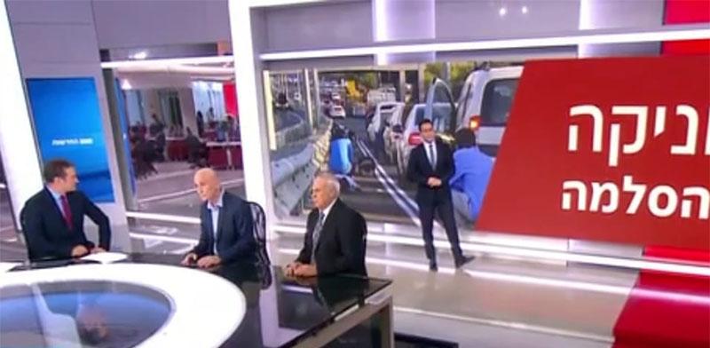 מהדורת החדשות של ערוץ 12 אמש / צילום: צילום מסך