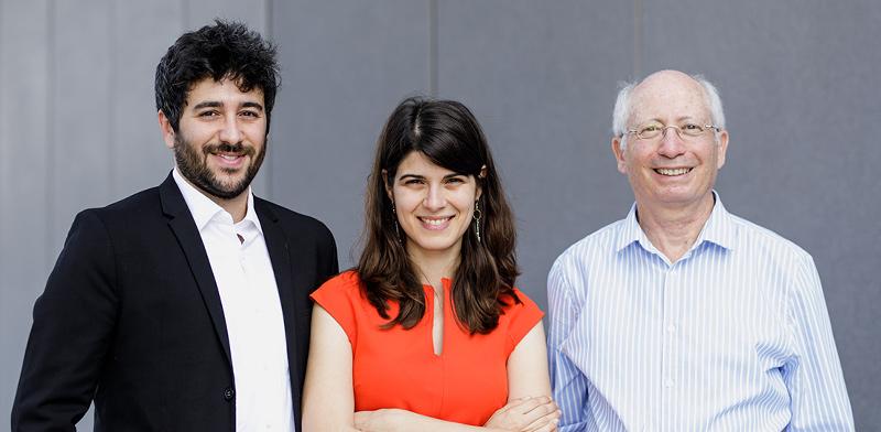 Jonathan Amir, Dr. Kira Radinsky, Prof. Moshe Shoham / Photo: PR