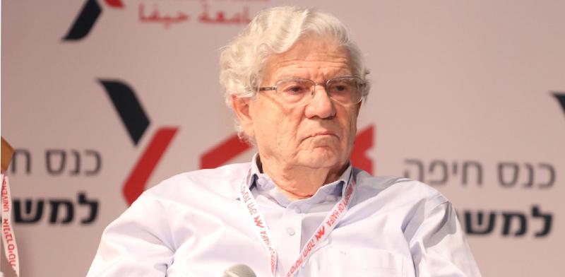 נשיא בית המשפט העליון לשעבר, השופט בדימוס אהרן ברק / צילום: דוברות אוניברסיטת חיפה