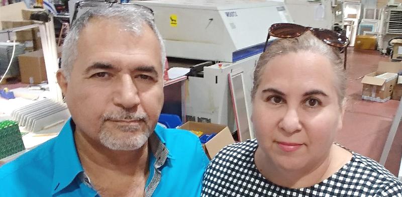 הני ושלמה מורג / צילום: תמונה פרטית