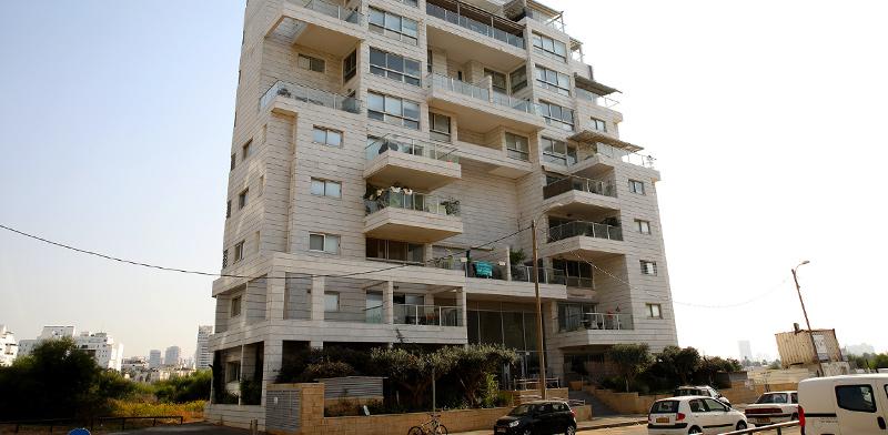 הבניין ברחוב יהודה עמיחי 6 בתל-אביב / צילום: כדיה לוי