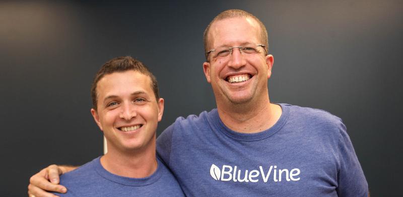 ניר קלר ואייל ליפשיץ, מייסדי BlueVine / צילום: בלו ויין