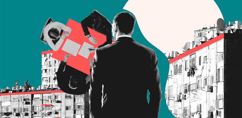 דגשים לחוזה בפרויקט פינוי בינוי / עיצוב: טלי בוגדנובסקי, צילום: shutterstock