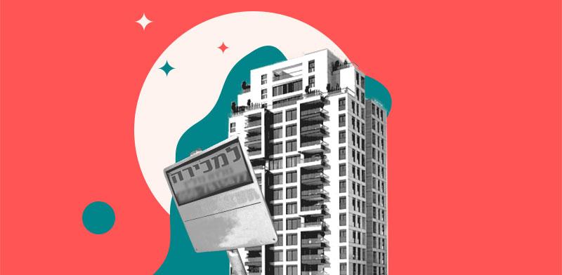 """מכירת דירה תוך כדי ביצוע פרויקט תמ""""א 38 / עיצוב: טלי בוגדנובסקי, צילום: יח""""צ, shutterstock"""