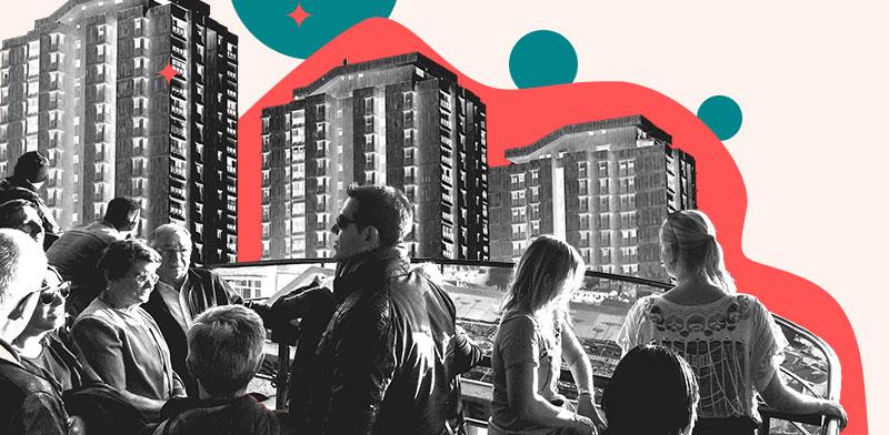 מעקב אחר ביצוע ופיתוח חיי קהילה בבניין החדש / עיצוב: טלי בוגדנובסקי, צילום: shutterstock