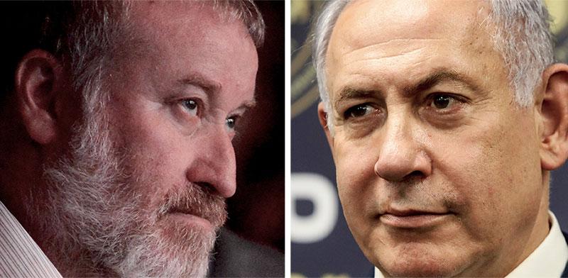 Avichai Mandelblit, Benjamin Netanyahu