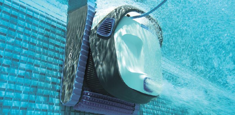 Maytronics swimming pool robot cleaner  / Photo: PR