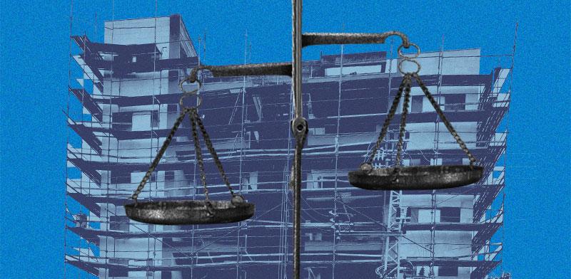 """עניינים משפטיים בתמ""""א 38 / צילום: איל יצהר, עיבוד תמונה: טלי בוגדנובסקי"""