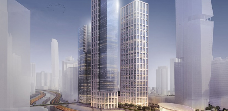 Impression of Tara site development, Tel Aviv / Imagin: אבנר ישר אדריכלים