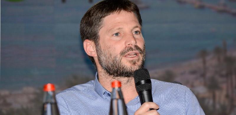 שר התחבורה בצלאל סמוטריץ' / צילום: איתמר סיידא