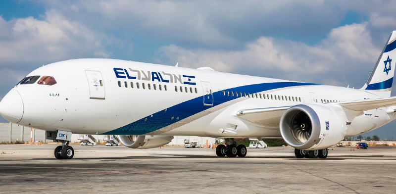 El Al plane  / Photo: Yochai Mussi