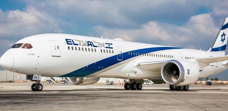 מטוס הדרימליינר העשירי של אל על / צילום: יוחאי מוסי