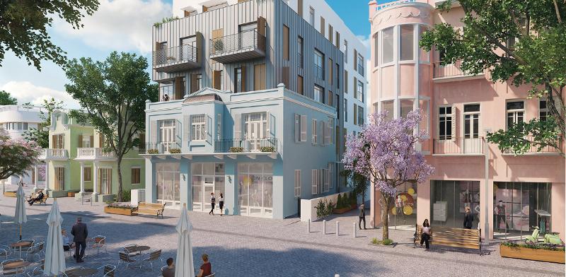 Nahlat Binyamin 7 / Imagin: Yaniv Pardo Architects
