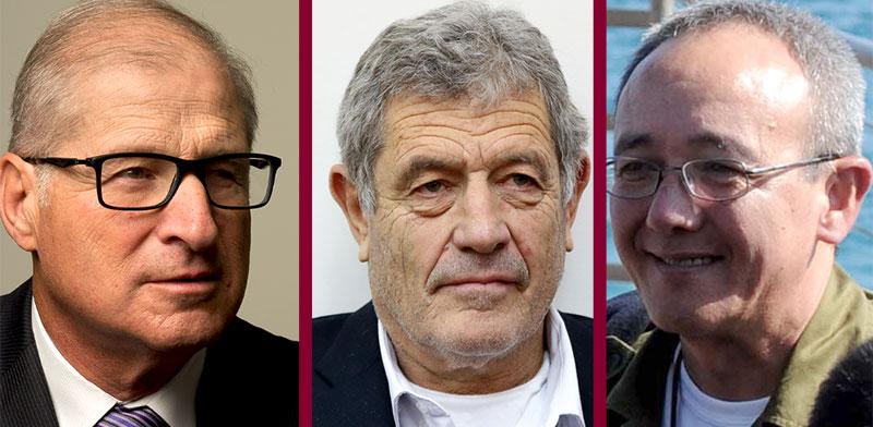 David Shimron, Michael Ganor, Eliezer Marom