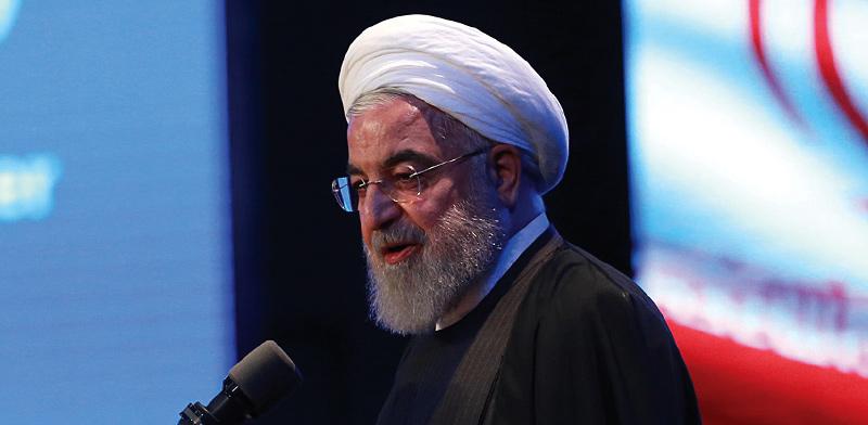 נשיא איראן חסן רוחאני  / צילום: רויטרס