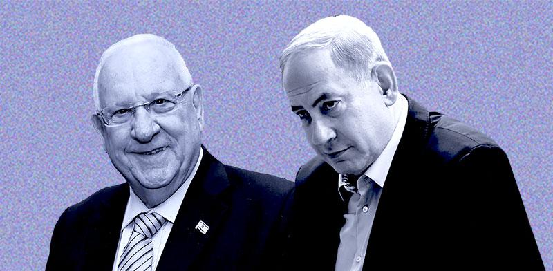 """רה""""מ בנימין נתניהו ונשיא המדינה ראובן ריבלין / צילומים: איל יצהר ורויטרס"""