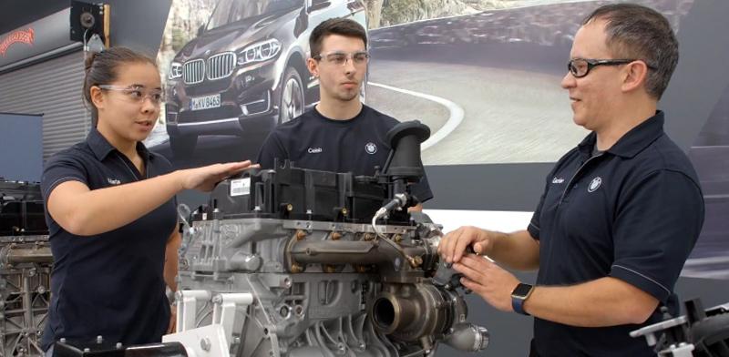 מתוך פרויקט המילגות של BMW / צילום: אתר קבוצת BMW