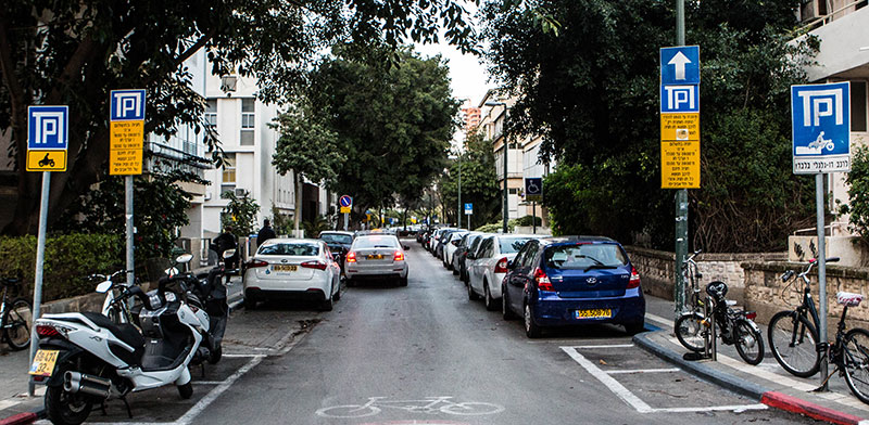 Parking in Tel Aviv  / Photo: Shlomi Yosef