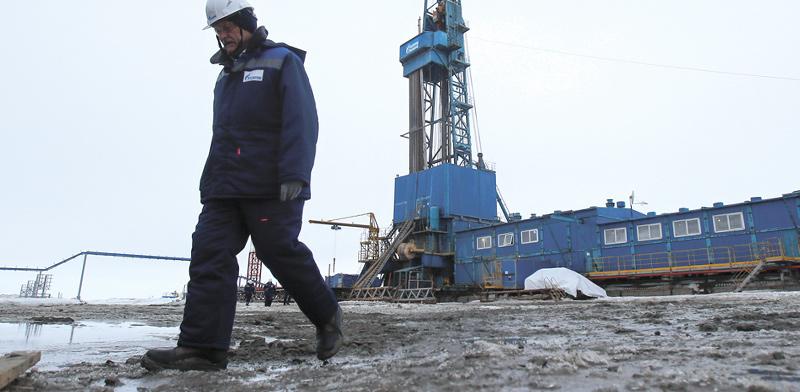 מתקן קידוח באזור הארקטי / צילום: רויטרס