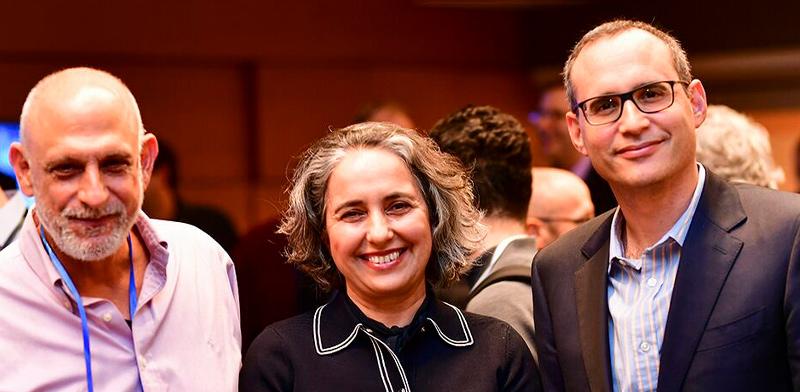 איתי בן זאב, ענת גואטה ואהרון אהרון / צילום: עומר מסינגר