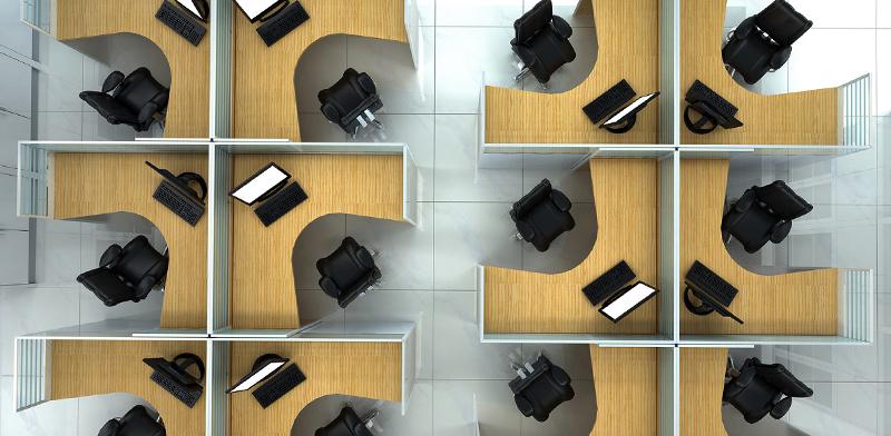 משרד ללא מחיצות / צילום: shutterstock