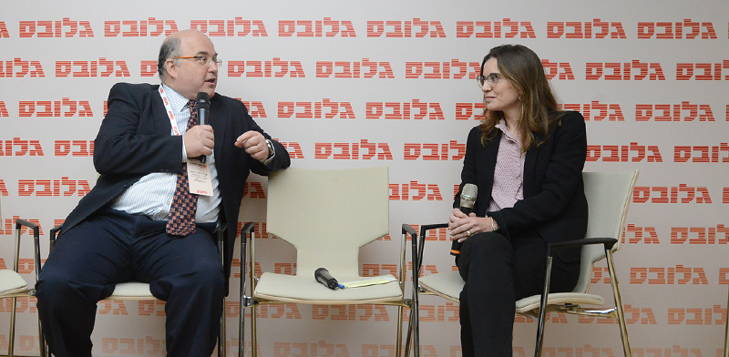 """דפנה ריצ'מונד-ברק ועו""""ד דניאל רייזנר / צילום: איל יצהר, גלובס"""