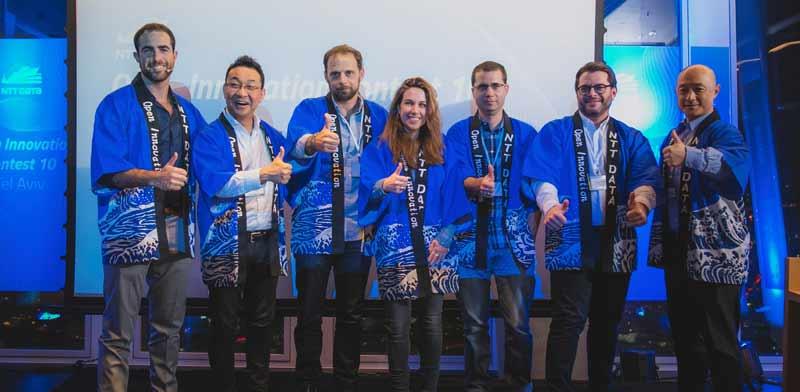 NTT Data startup winners