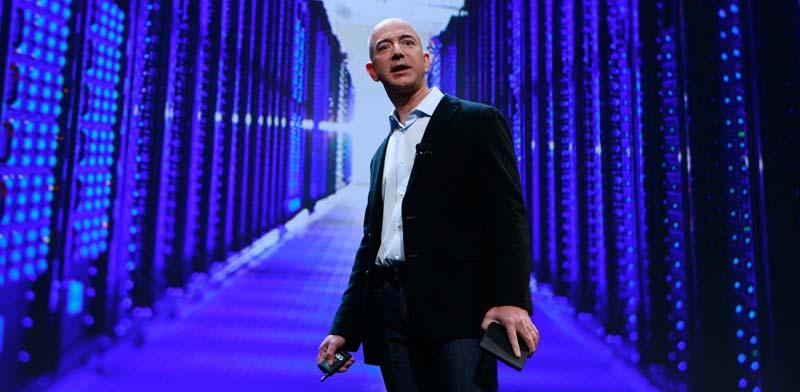 """מנכ""""ל אמזון ג'ף בזוס / צילום: רויטרס, Shannon Stapleton"""