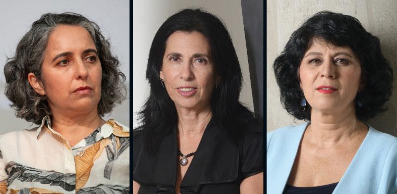 הרגולטוריות  חדוה בר, דורית סלינגר וענת גואטה / צילומים: איל יצהר, כדיה לוי, יונתן בלום