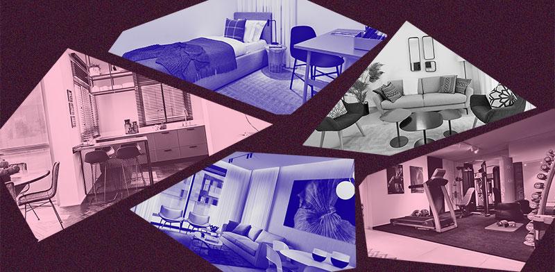 דירות לדוגמה / אילוסטרציה: טלי בוגדנובסקי